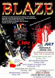 BLAZE classic rock concert