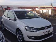 2013 VW Polo SEL TSI bought March 13 for £17, 389, selling for £12, 500